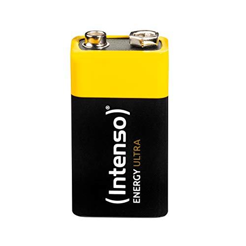 Intenso Energy Ultra 9V Block Alkaline Batterie - 6LR61 Ultra Alkaline 9v Batterien