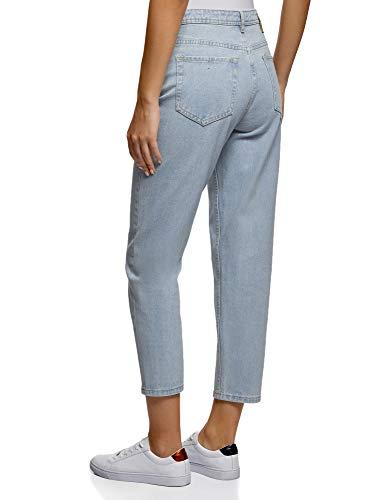 mom jeans oodji hellblau