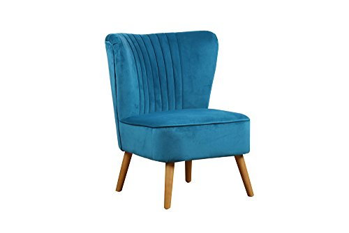 Birlea Furniture Greenberg Chair Fabric, Sapphire