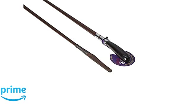"""Mactack Show Showing Leather Whip Crop With Buffalo Handle C28 Black//Brown 24/"""""""