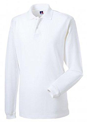 Jerzees - T-Shirt à manches longues -  Homme Blanc - Blanc