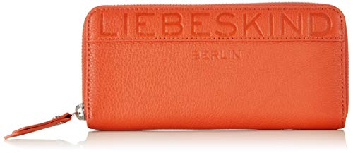 Liebeskind Berlin Damen Urelainw8 Urban Geldbörse, Orange (Rusty Rea), 2.0x10.0x19.0 cm -