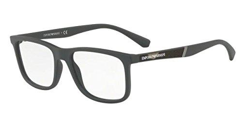 Preisvergleich Produktbild Emporio Armani EA 3112 5574,  54mm,  Matte Military Green,  Eyewear Frames