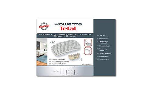 Rowenta ZR0065 Kit De Remplacement 2 Lingettes Microfibres + 1 Cartouche Anti Calcaire