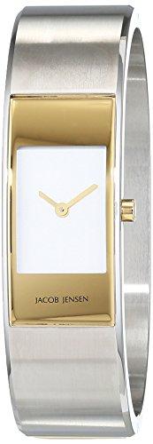 Jacob Jensen Damen-Armbanduhr Analog Quarz Edelstahl 32462