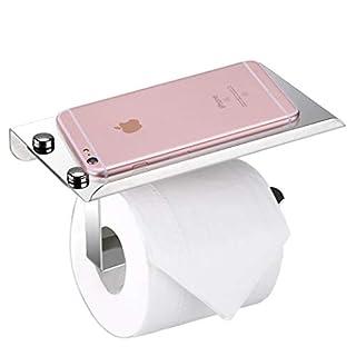 Stilvoller Toilettenpapierhalter Aus Rostfreiem Edelstahl, Mit Ständer Für  Mobiltelefon, Wandmontage, Badezimmerzubehör Von BTSKY