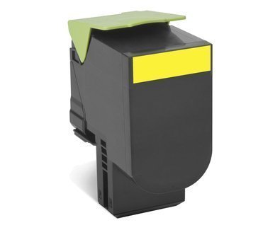 Preisvergleich Produktbild LEXMARK 702HYE Toner gelb 3.000 Seiten 1er-Pack