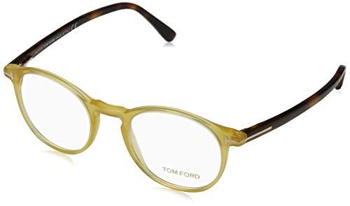 Tom Ford Herren Ft5294 Brillengestelle, Gelb (GIALLO/ALTRO), 48