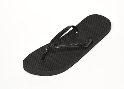 Unbekannt , Sandales pour homme noir/noir