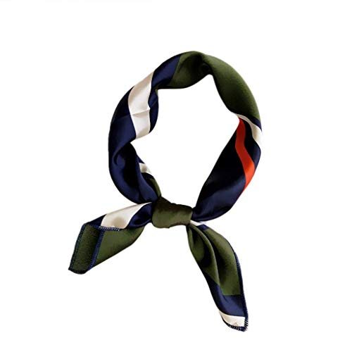 QIMANZI Doppelseitige Boxer langen Abschnitt Schal weiblichen koreanischen Version des Frühlings Herbst wilde Wrist Band Streamer Haarband Mode Fliege(B4)