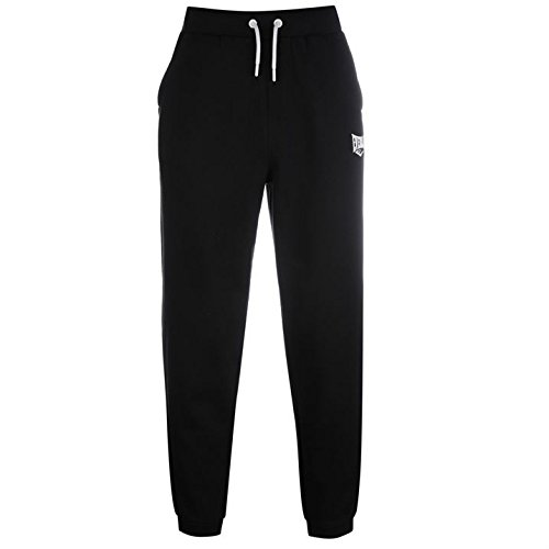 everlast-mens-jogging-bottoms-sports-elasticated-waist-trousers-training-black-l