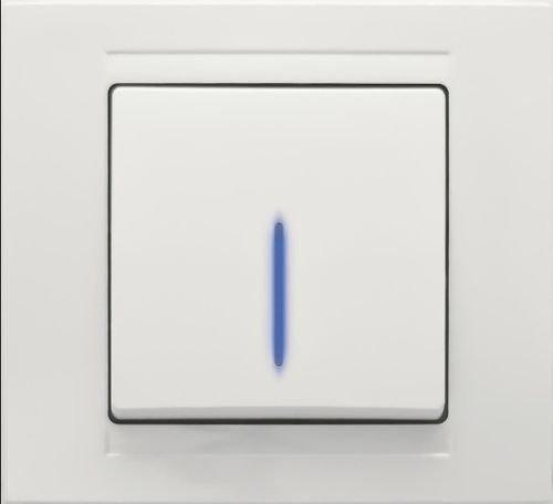 Moderna Wechselschalter mit blauer LED