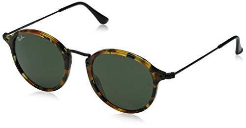 ray-ban-unisex-adults-mod-2447-sunglasses-spotted-black-havana-spotted-black-havana-size-49