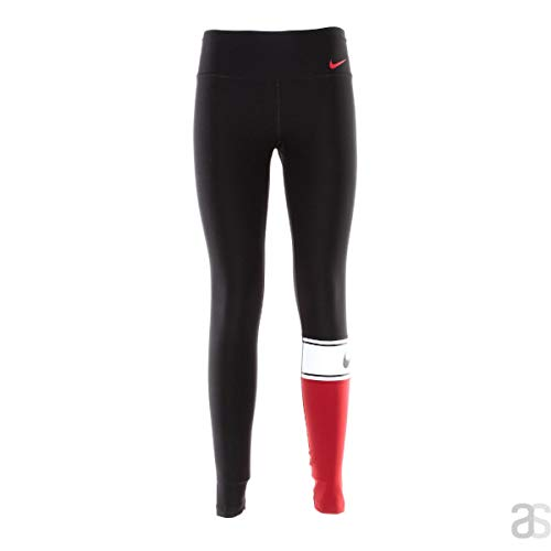 Nike 905137 Pantalon d'entraînement Femme, Blanc/Noir/GY, L