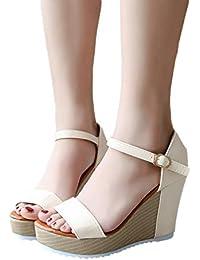 da1910452f217 Amazon.it  pantofole divertenti - Scarpe col tacco   Scarpe da donna ...