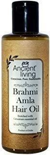 Ancient Living Brahmi et Amla Hair Oil 6,76 oz