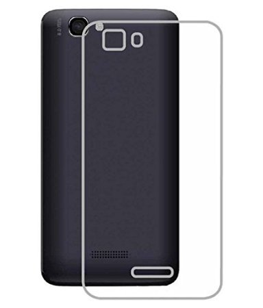 Heartly Ultra Thin 0.3mm Clear Transparent Flexible Soft TPU Slim Back Case Cover For Micromax Canvas 2 Colors A120  available at amazon for Rs.159