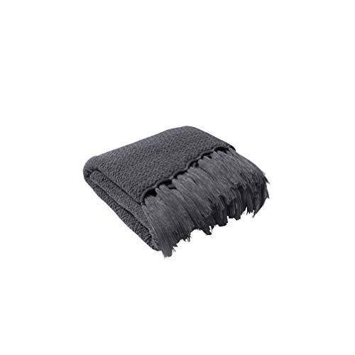 HYwot Caldera Acryl Decke Stricken Sofa Decke Weiche Geladene Fotografie Requisiten,a6 -
