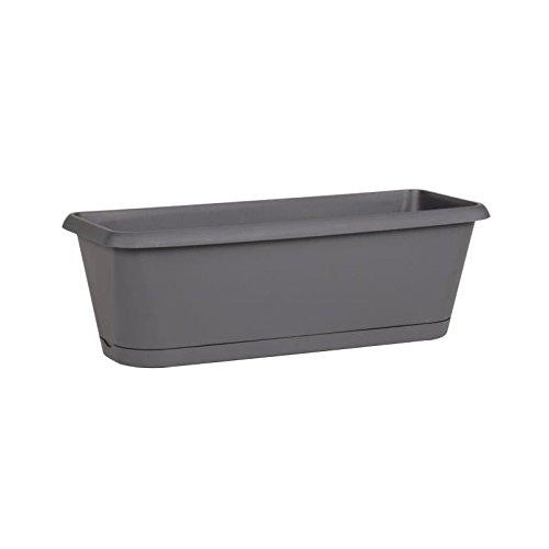 CHORUS Jardiniere & plateau clipsé contenance 9,45 L gris anthracite