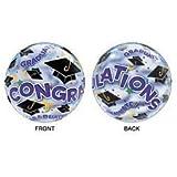 "Qualatex BUBBLES - Congratulations GRADUATE! (22"" Graduation Balloon) by Amscan"