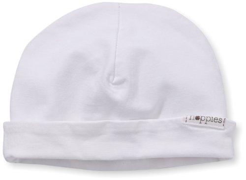 Noppies Unisex - Baby Mütze U Hat Rev Babylon, Einfarbig, Gr. Neugeborene (Herstellergröße: 0M-3M), Weiß