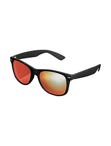 Masterdis Mstrds Shades Likoma Mirror Sunglasses UV400 Occhiali da Sole Specchiati Colore black/red