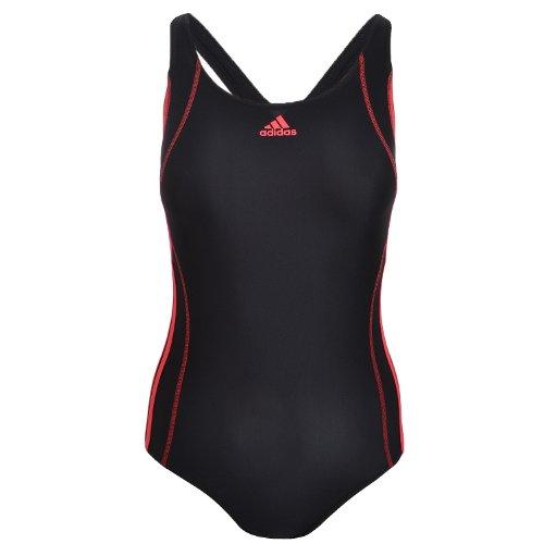 Preisvergleich Produktbild Adidas Performance Damen Badeanzug, Schwarz/Rosa Lycra Swimwear Suit Große; 32
