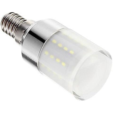 YangR* regulable E14 5W 50x3014SMD 80-350LM 6000-7000K LED blanco frío bombillas de maíz (220-240 V)