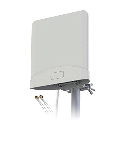 König ANT-4G20-KN Antenne 4G/3G/GSM avec 2cbles 2,5m