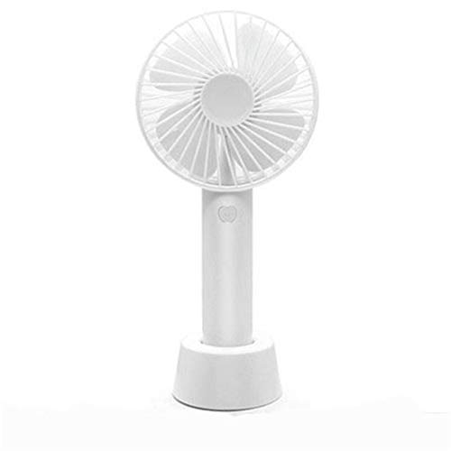 Electric Fanhandheld Small Fan Kleine Mini-Usb Wiederaufladbare Tragbare Tragbare Studentenwohnheim Silent Hand Holding Electric Fan, Weiß - Weiß Electric Fan