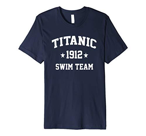 Titanic Swim Team 1912 funny swimmers t-shirt - Swim-team T-shirts