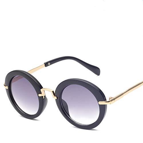 �nlichkeit Oval Kinder-Sonnenbrille Kunststoff Spiegelrahmen Sicherheitsmaterial Cartoon Oval Sonnenbrille Mädchen Jungen Baby Sonnenbrille 3 bis 15 Jahre alt. UV-Schutz Brille ()