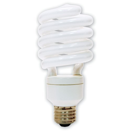 GE Lighting 71765 Energy Smart Spiral CFL 26-Watt (100-watt replacement)