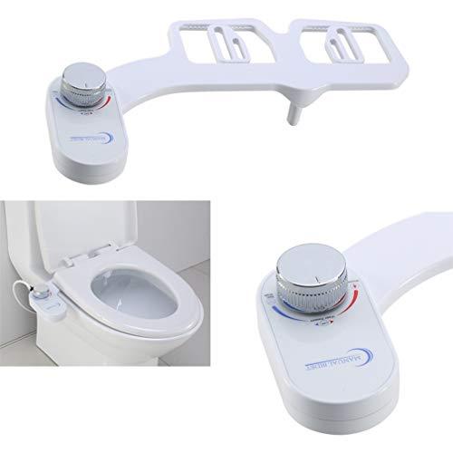 WAOBE Inodoro Bidet, Limpieza De Uno Mismo Solo Inyector Retractable Baño WC Asiento Bidé Rociador Culo Lavado Limpio Baño De Agua Fría No Eléctricos
