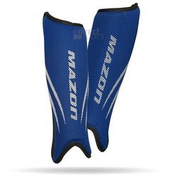 Mazon Elite Hockey-Schienbeinschoner Small / Medium blau