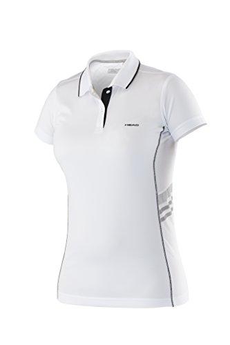 adidas Oberkörper-Bekleidung Club Polo Shirt Technical Girls Weiß