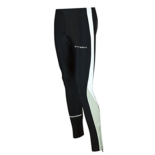 Airtracks multifunzione Set Running invernale/Tight Long + a maniche lunghe Felpa Black / Grey