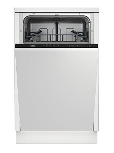 BEKO Sage vollständig integriertes 1601010places A + Spülmaschine-Geschirrspülmaschinen (komplett integriert, schwarz / Schonwaschgang, intensive)