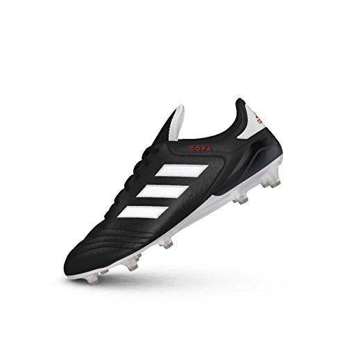 Adidas Copa 17.1 Fg, Herren Fußballschuhe, Schwarz (Negbas/ftwbla/rojo), 48 EU (12.5 UK) -