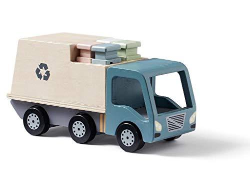 Kids Concept Basura Coches y Camiones Aviones Vehículos de Juguete Unisex, Multicolor (1000424)