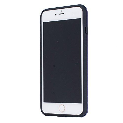 Voguecase® für Apple iPhone 6/6S 4.7 hülle, Schutzhülle / Case / Cover / Hülle / TPU Gel Skin (Mädchen im weißen Kleid 04) + Gratis Universal Eingabestift Punktmuster/Lila