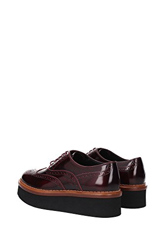 XXW03A0R840SHAR810 Tod's Derby Femme Cuir Rouge Rouge