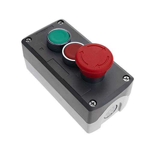 Caja de superficie para controles, pulsadores e interruptores, basados en perforaciones de diámetro 22 mm. Caja de plástico pensada para instalar pulsadores e interruptores, para controles industriales. El usuario puede configurar la caja de control ...