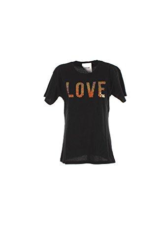 Shop Art 16ESH22411 T-shirt Donna Nero Xs