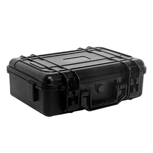 Preisvergleich Produktbild Almencla Leer Werkzeugkoffer Werkzeugbox Organizer aus ABS Kunststoff,  355 x 265 x 115 mm,  Staubdicht,  Winddicht,  Wasserdicht