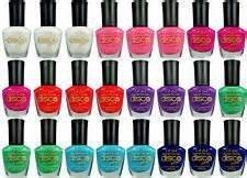 8-new-disco-brites-black-light-glows-uv-fingernail-polish-8-colors-lacquer-la-girl-full-size-bottle-