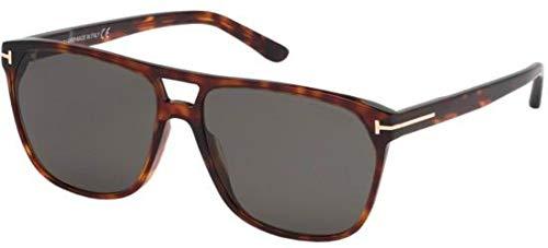 Tom Ford Sonnenbrillen SHELTON FT 0679 RED HAVANA/GREY Herrenbrillen