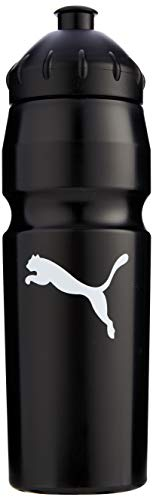 PUMA Trinkflasche New Waterbottle Plastic, black-White, UA