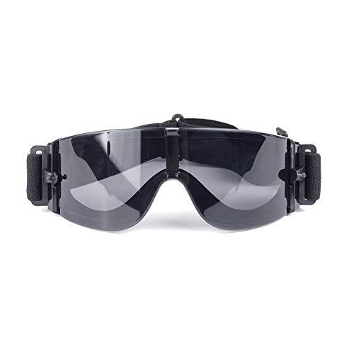 Labor Schutzbrille Militärbrille Us Militärfeld Explosionsgeschützt Anti Schock Cs Taktische Brille Motorradbrille Black Damen Herren