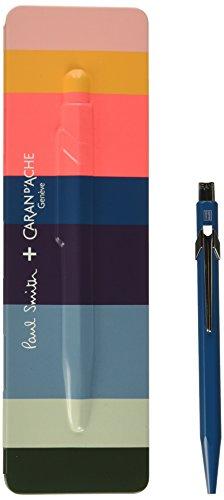 Preisvergleich Produktbild Caran d'Ache Kugelschreiber 849 'PAUL SMITH' PEACOCK BLUE, limited Edition, 849.168